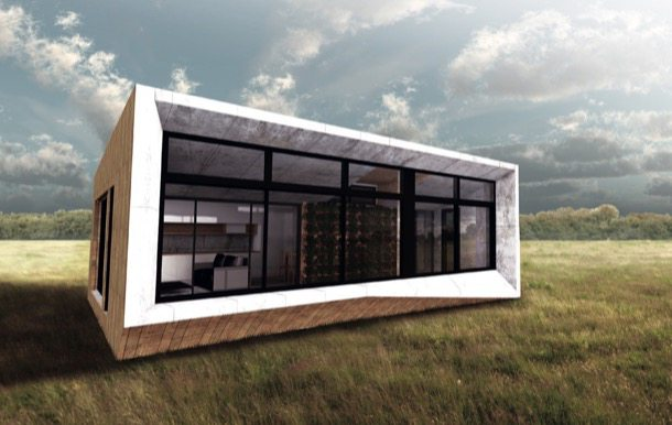 Casas ecol gicas prefabricadas de archiblox - Casas prefabricadas ecologicas ...