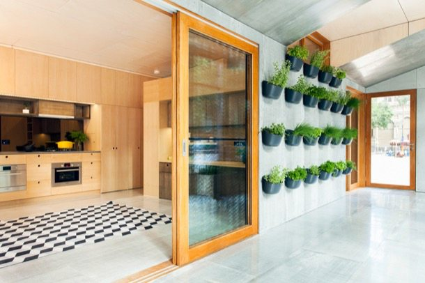 Casas ecol gicas prefabricadas de archiblox - Casas bioclimaticas prefabricadas ...