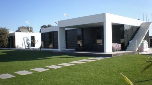 Arquitectura prefabricada de la firma a cero tech - Acero casas prefabricadas ...