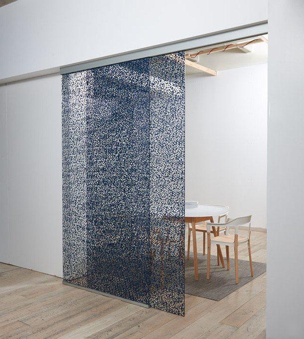 Puertas de vidrio que mejoran la eficiencia energ tica - Cocinas con bloques de vidrio ...