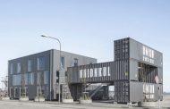 Unionkul: oficinas con contenedores usados