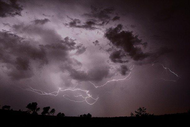 tormentas intensas por culpa del calentamiento global