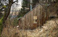 Cabaña de Tom: casa de madera prefabricada