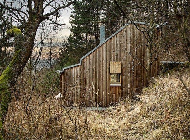 Cabana De Tom Casa De Madera En Un Bosque Austriaco