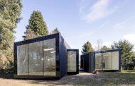 2 Refugios sostenibles en el jardín de una casa