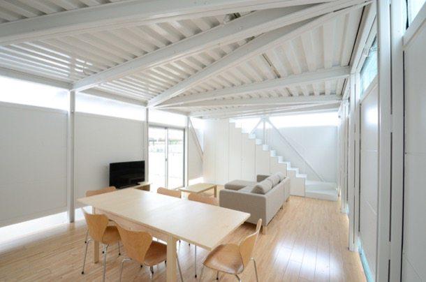 Casa de estructura met lica lgs house tokio - Estructura metalica vivienda ...
