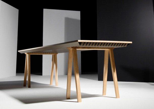 Zero-Energy mesa de comedor