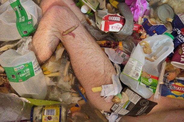 diferentes tipos de basura