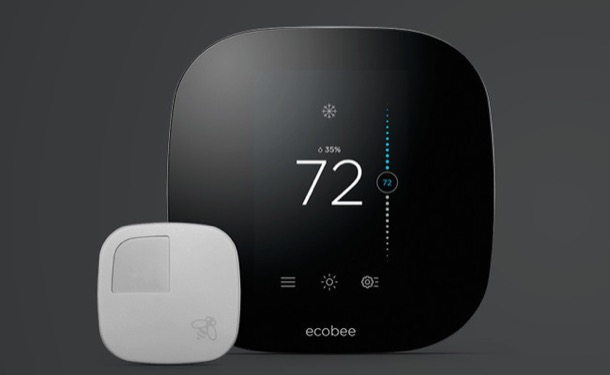termostato inteligente Ecobee3 en el Apple Store