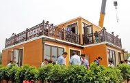 Casas impresas 3D, por la compañía china Zhuoda Group