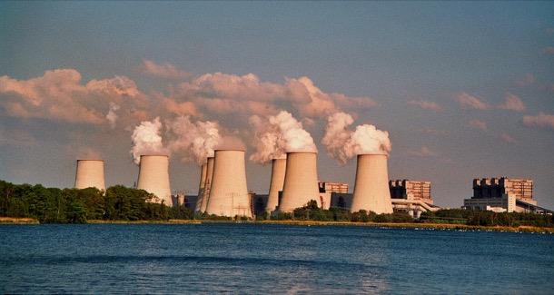 una de las centrales termoeléctricas de Alemania