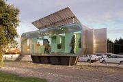 Módulos prefabricados, autosuficientes, y sostenibles