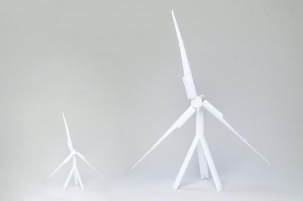 aerogeneradores portátiles Trinity