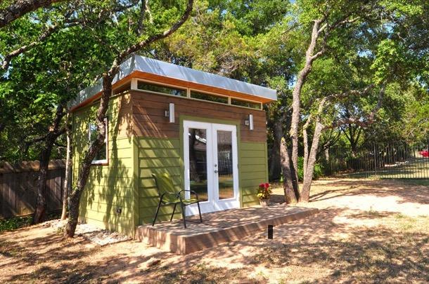 modern Kwik Room en jardin