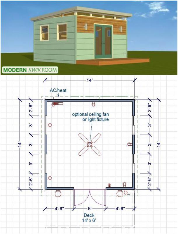 modern Kwik Room plano