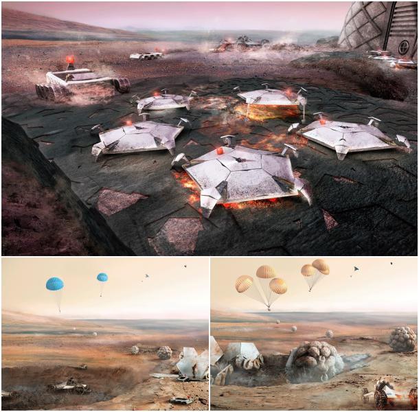 preparando vivir en Marte