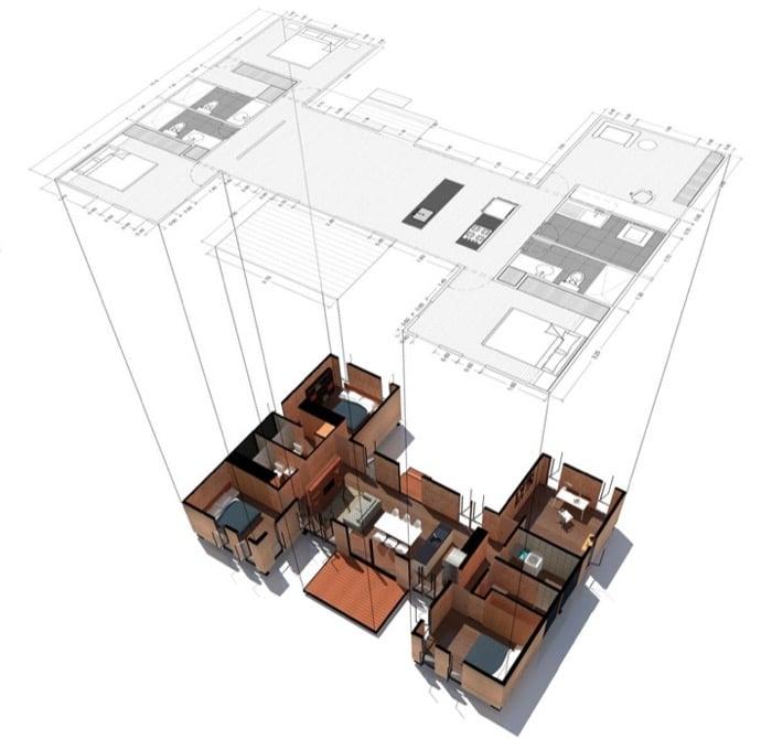 Casa prefabricada VIMOB-modelo-XL
