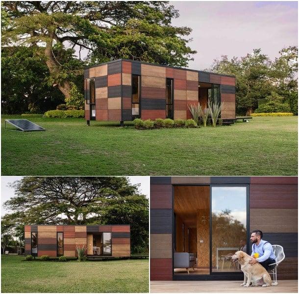 casas modulares VIMOB fachada madera