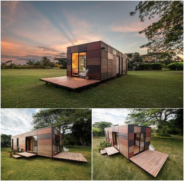 Casas modulares vimob caracter sticas y modelos - Mini casas prefabricadas ...
