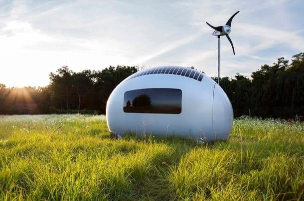 cabaña autosuficiente EcoCapsule