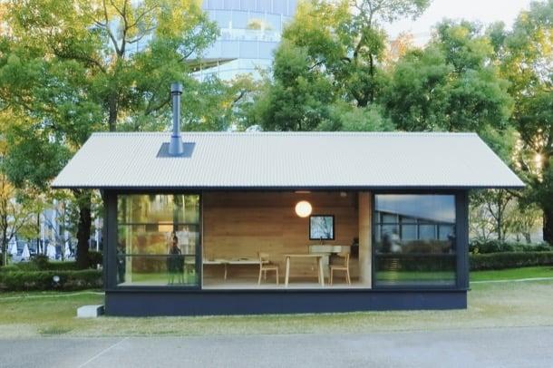 cabaña de madera Naoto Fukasawa