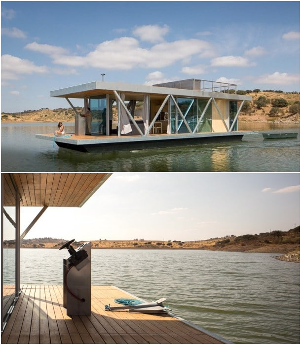 casa barco Floatwing