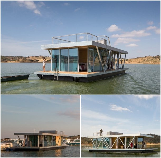 casa flotante Floatwing