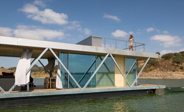 casa flotante exterior