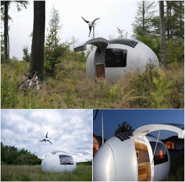 casa minima ecologica EcoCapsule