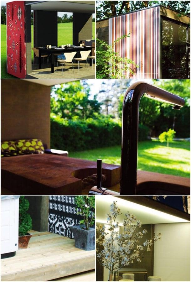 casetas de jardín CUBE detalles