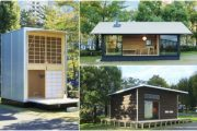 3 modelos de cabañas prefabricadas de la firma MUJI