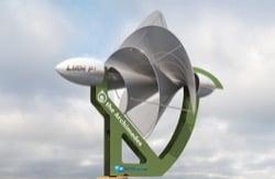 turbina LIAM-F1-UWT para generar energía doméstica