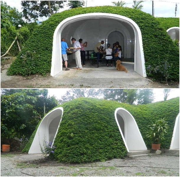 casas semienterradas prefabricadas Green Magic