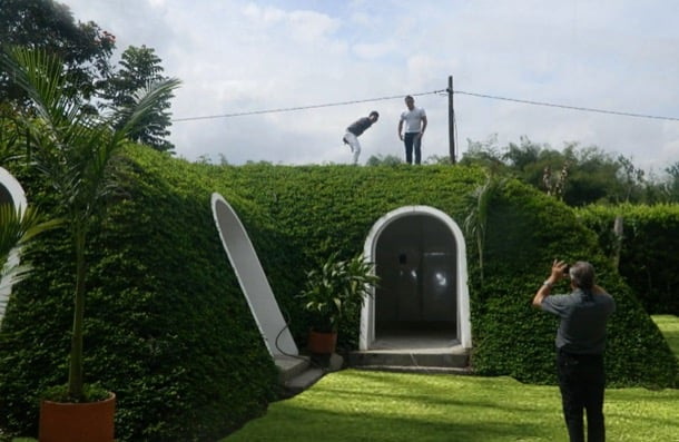 Casas semienterradas prefabricadas de green magic home - Casas sostenibles prefabricadas ...