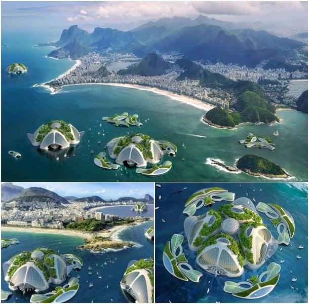 ciudad flotante ecológica