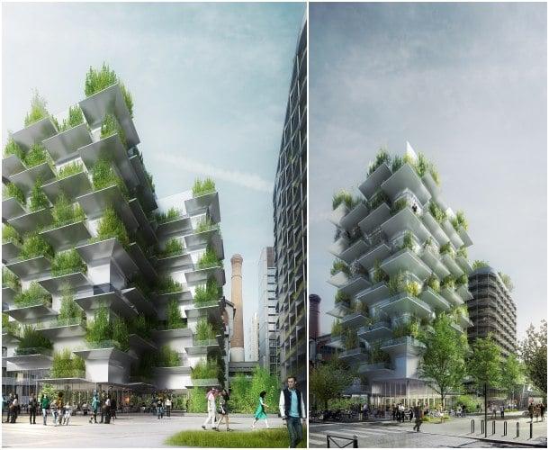 Arquitectura verde reinventar Paris