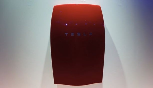 bateria roja Powerwall