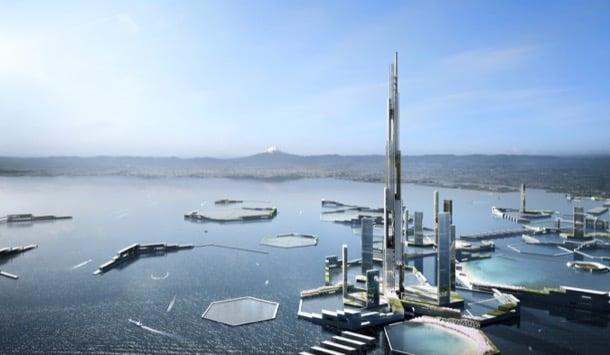 ciudad futurista Next Tokyo