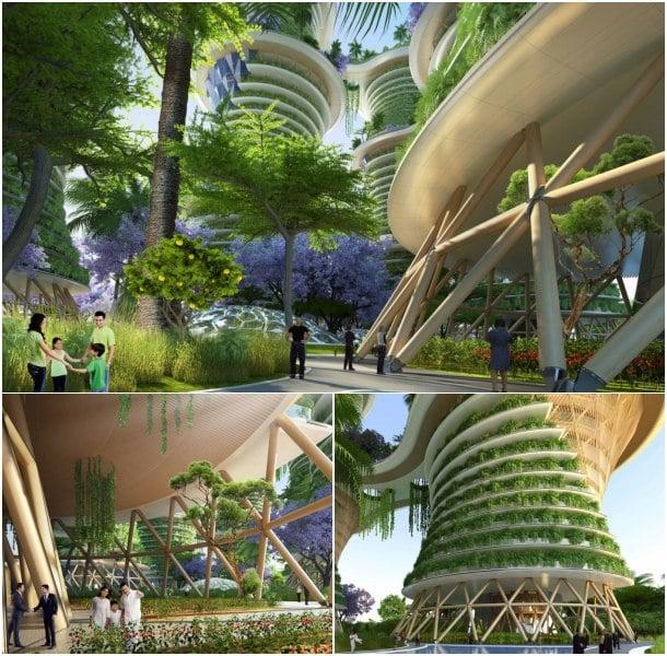 detalles Hyperions arquitectura ecologica