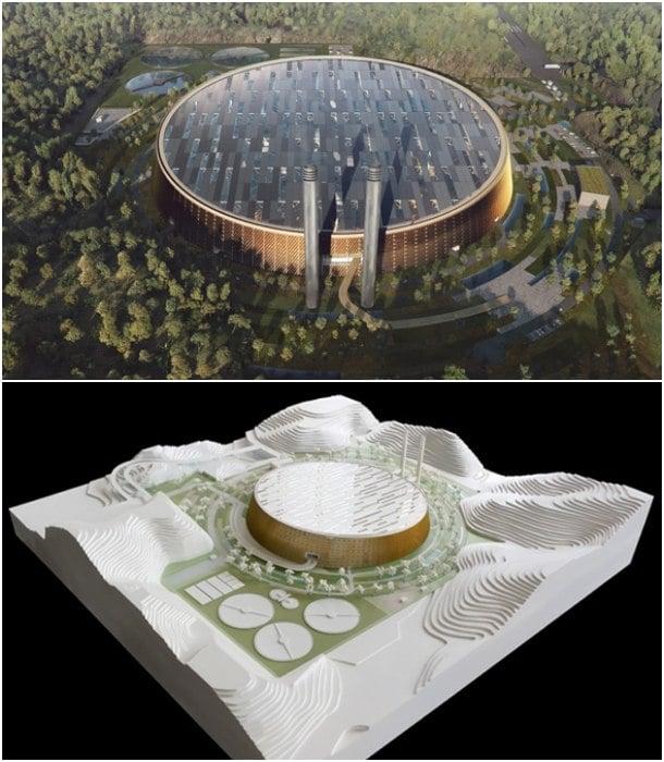 maqueta gestion residuos Shenzhen