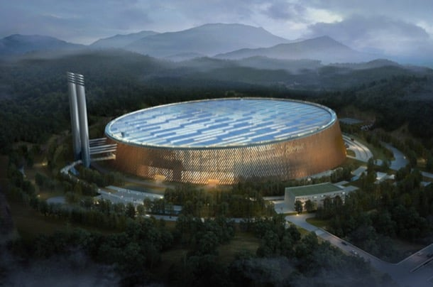 planta gestión de residuos en Shenzhen
