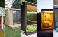 Cinco casetas de jardín prefabricadas y sostenibles