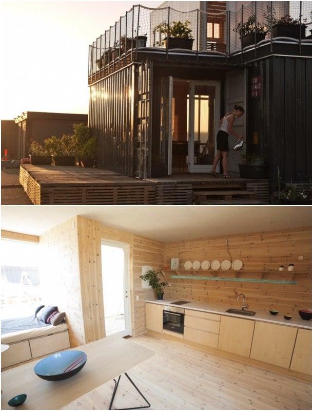 casa contenedor CPH Shelter