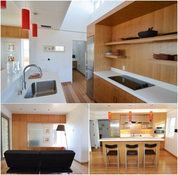 casa solar INhouse cocina comedor sala