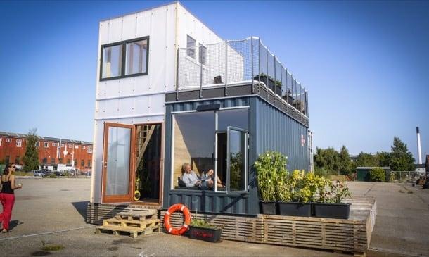 Casas de contenedores CPH Shelter, con materiales ecológicos