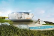 Revolution: pods prefabricados diseñados por Fernando Romero