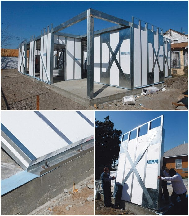 construccion con paneles aislados mnmMOD