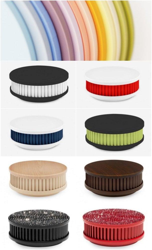 detectores de humo en colores
