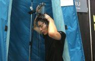 HOTARU: ducha portátil que además recicla el agua