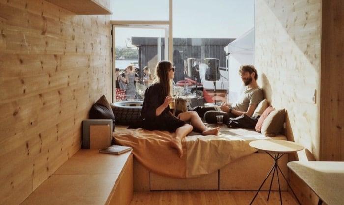 interior casa CPH Shelter